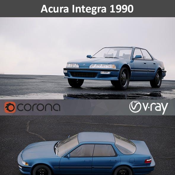 Acura Integra sedan 1990