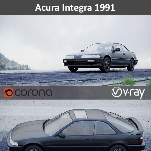 Acura Integra Coupe 1991