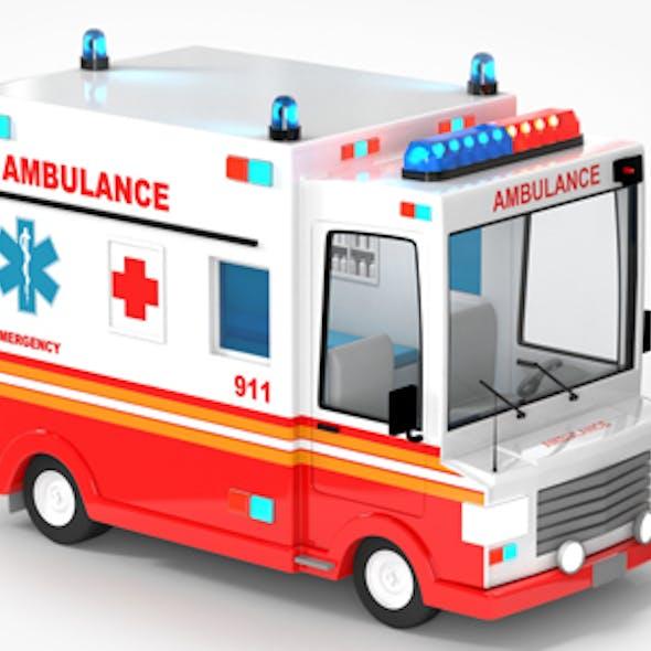 Ambulance Cartoon