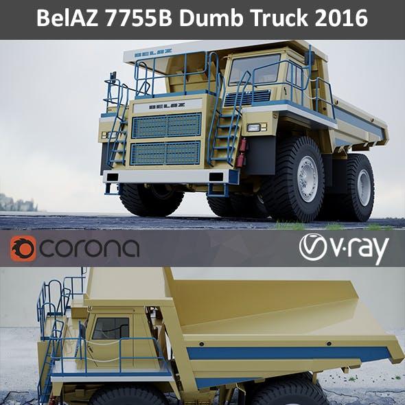 BelAZ 7555B Dumb Truck 2015