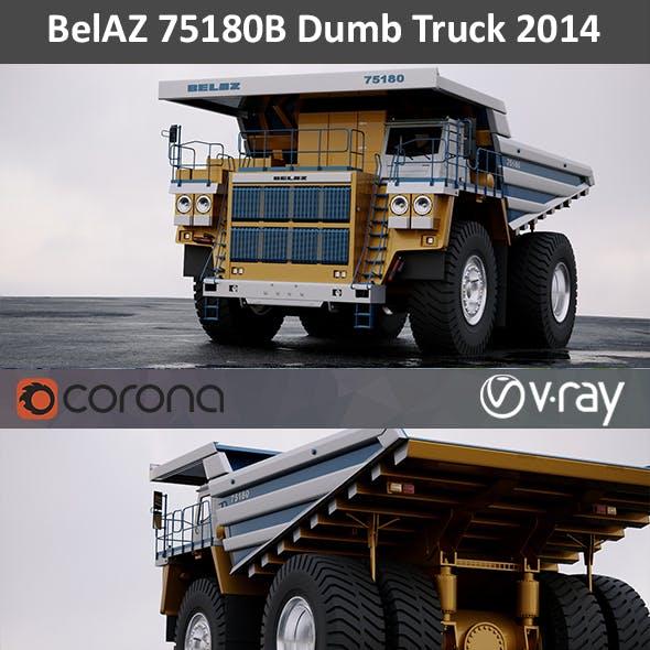 BelAZ 75180 Dumb Truck 2014