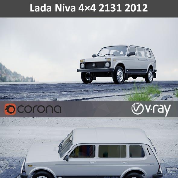 Lada Niva 4x4 2012