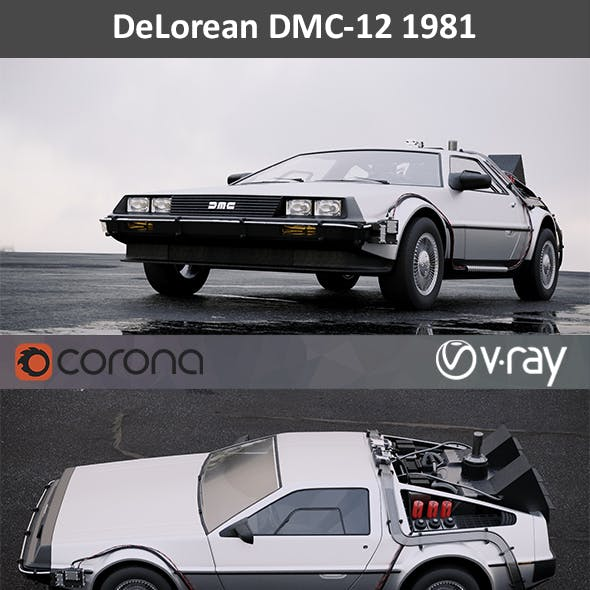 DeLorean DMC-12 BTTF 1981