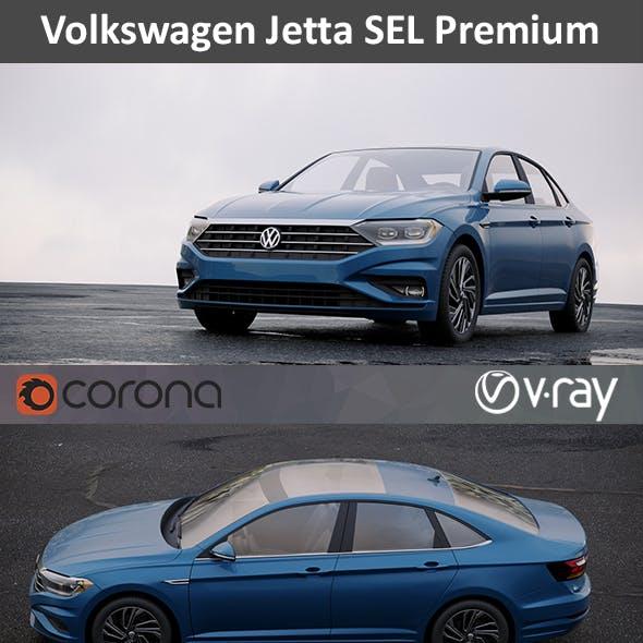 Volkswagen Jetta SEL Premium 2018