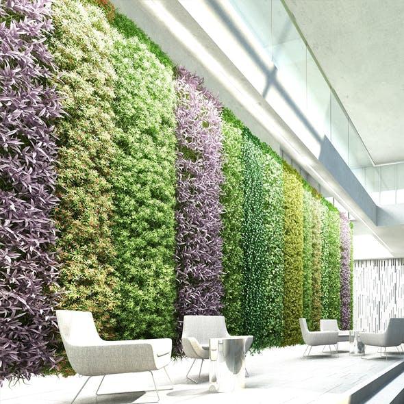 Vertical Garden 8 - 3DOcean Item for Sale