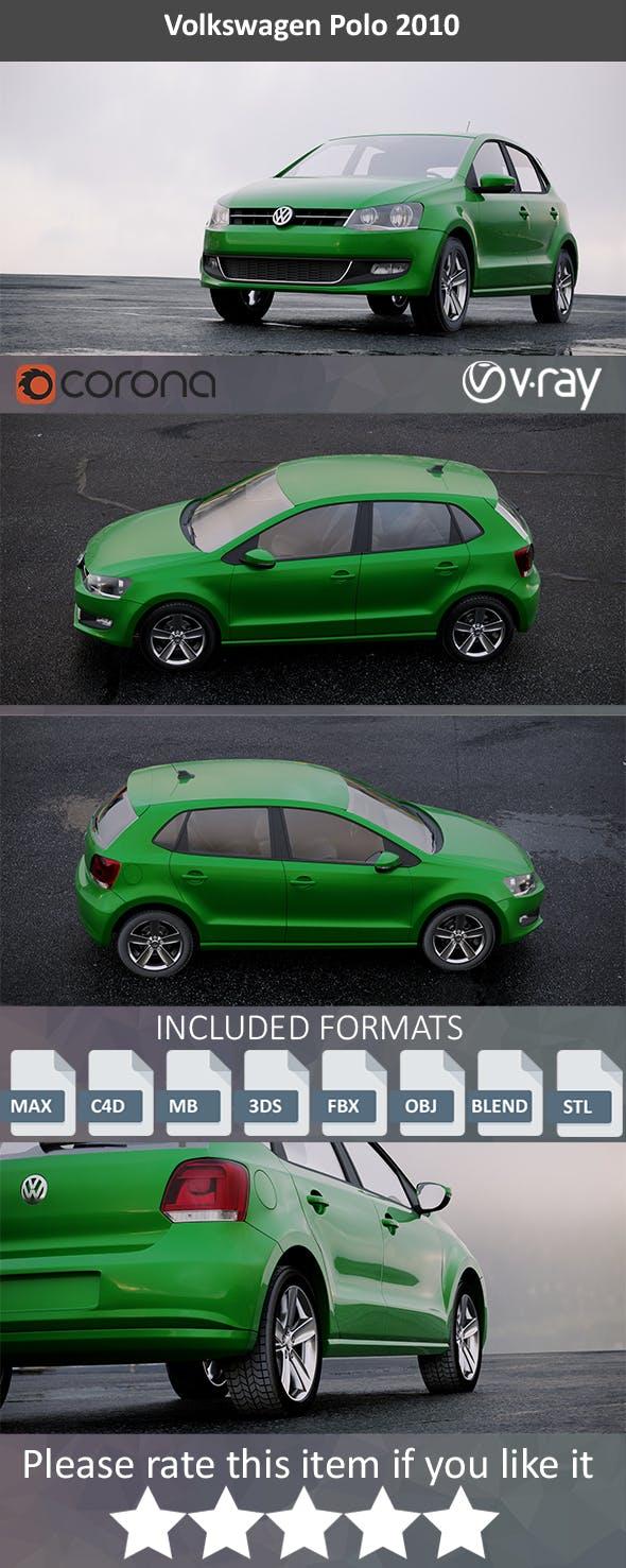 Volkswagen Polo 2010 - 3DOcean Item for Sale