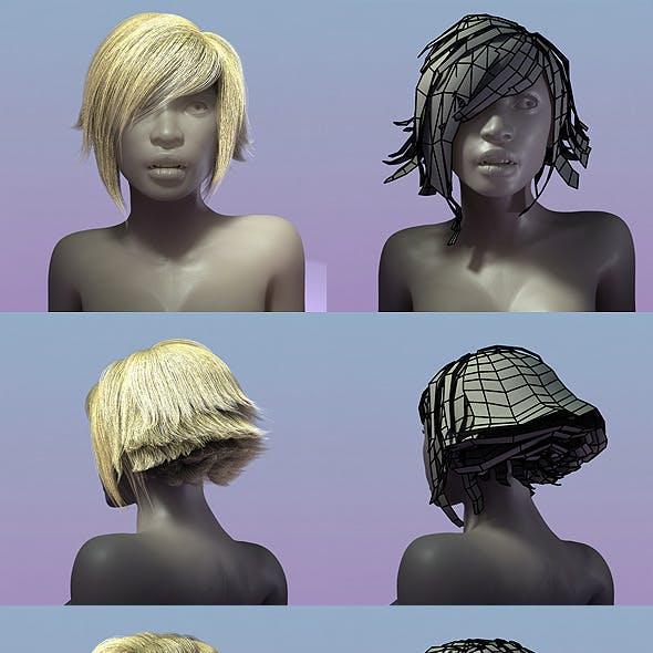 Female Hair Style 002