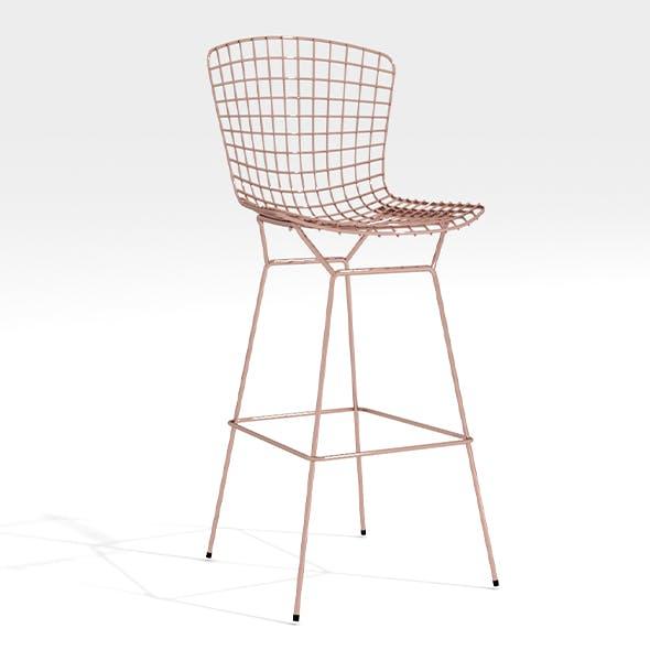 Rare wire chair