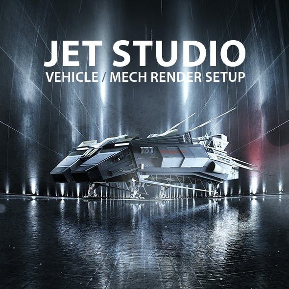 Jet Studio Render Setup for Cinema 4D