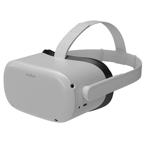 Oculus Quest 2 VR Headset model - 3DOcean Item for Sale