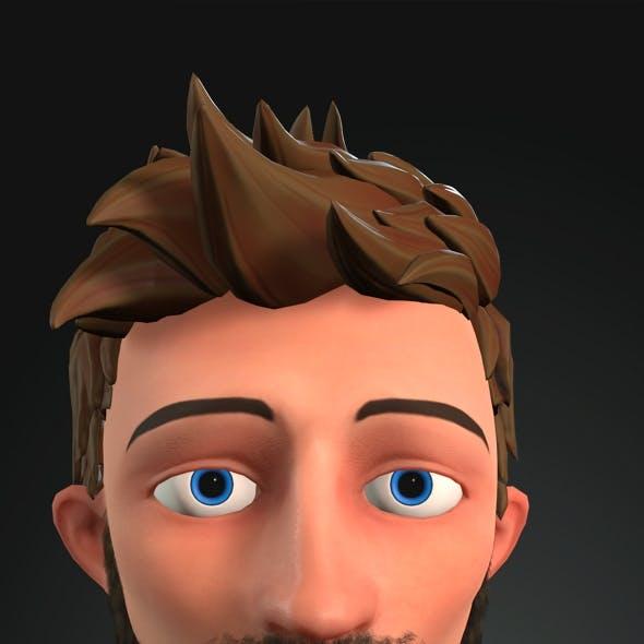 Cartoon Character - John