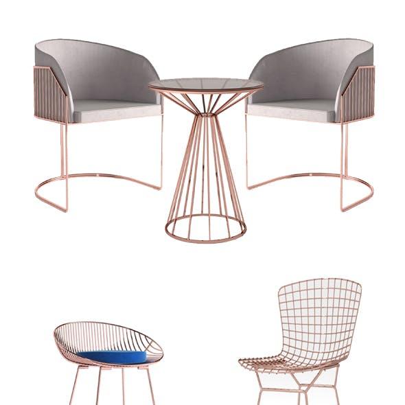 Bar Chair Set