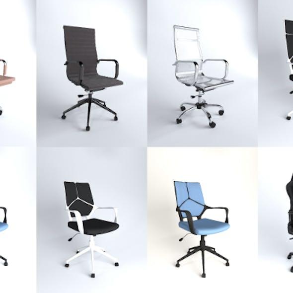 Office chair set