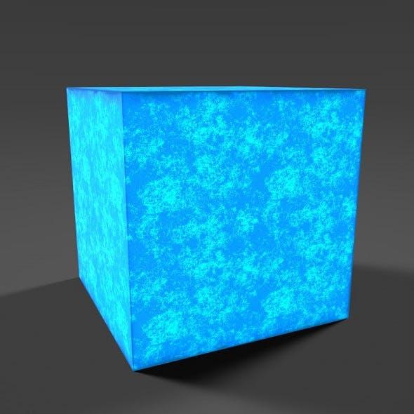 Game Ready Blue Magic Cube