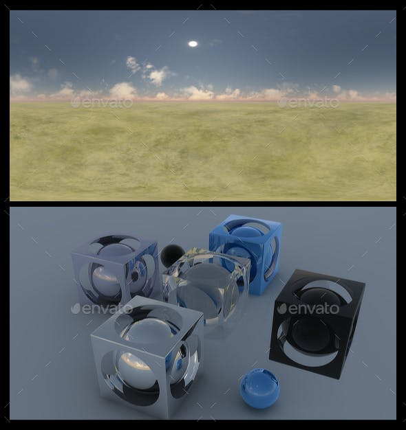 Clear Noon - HDRI - 3DOcean Item for Sale