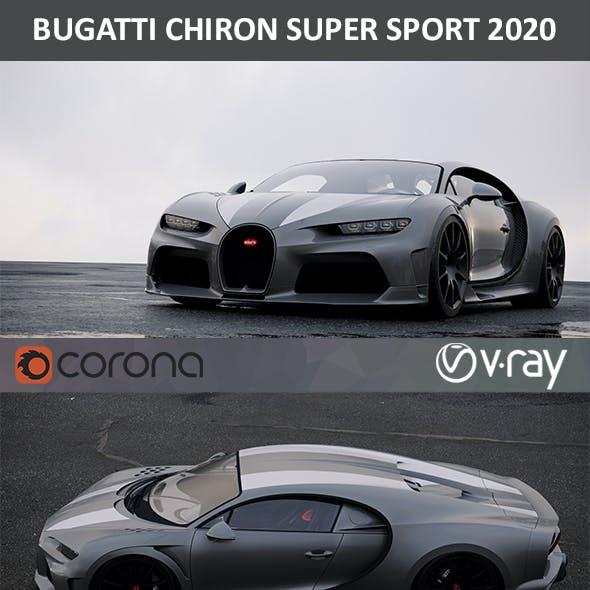 Bugatti Chiron Super Sport WRE 2020