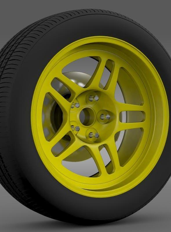 Chevrolet Camaro GS Racecar 2008 wheel - 3DOcean Item for Sale