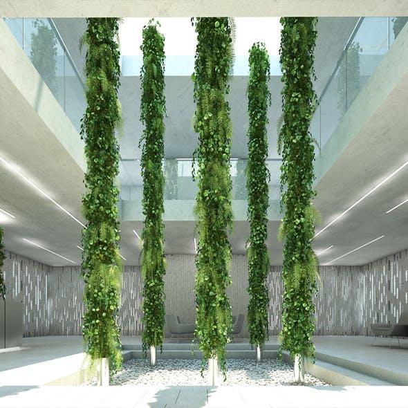 Vertical Garden 9 - 3DOcean Item for Sale