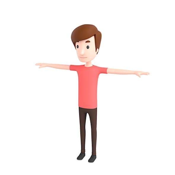 CartoonMan040 Man
