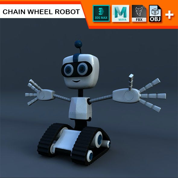 Chain Wheel Robot Model