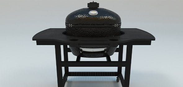 Oval XL Charcoal Kamado Grill - 3DOcean Item for Sale