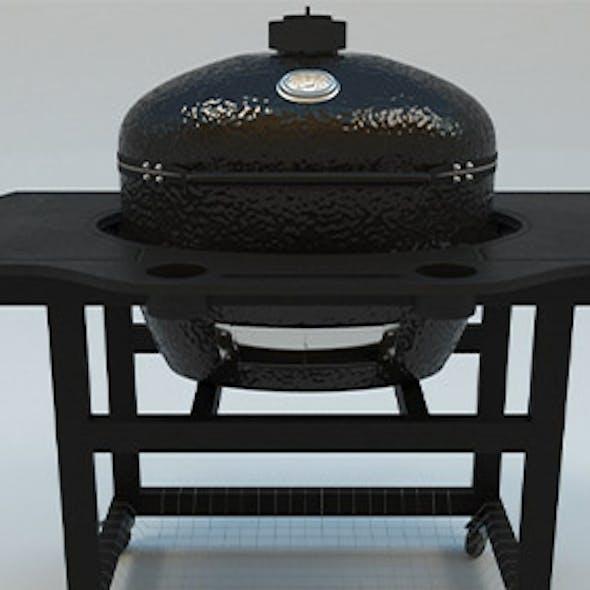 Oval XL Charcoal Kamado Grill