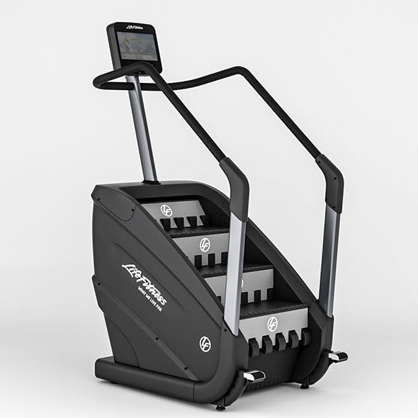 Life Fitness Climber_shop - 3DOcean Item for Sale