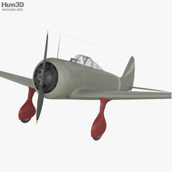 Nakajima Ki-27 - 3DOcean Item for Sale