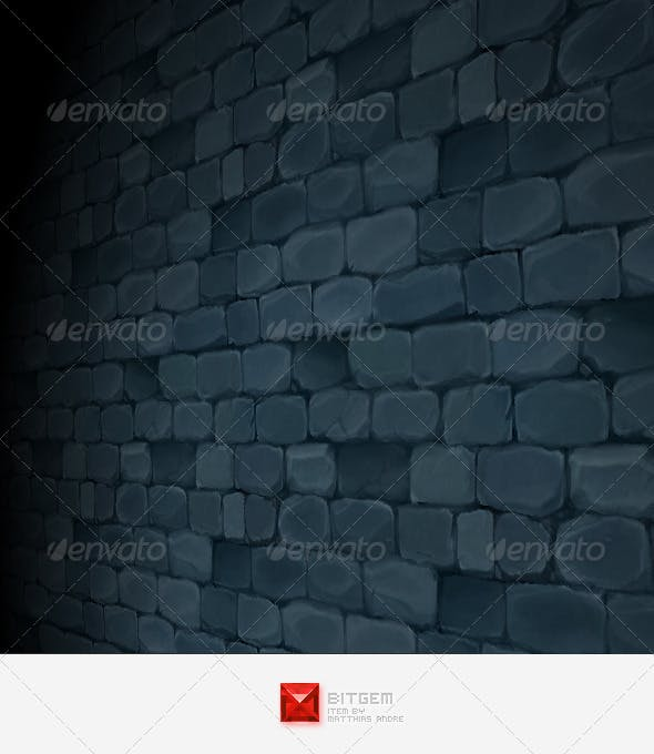 Stone Wall Texture Tile 01 - 3DOcean Item for Sale