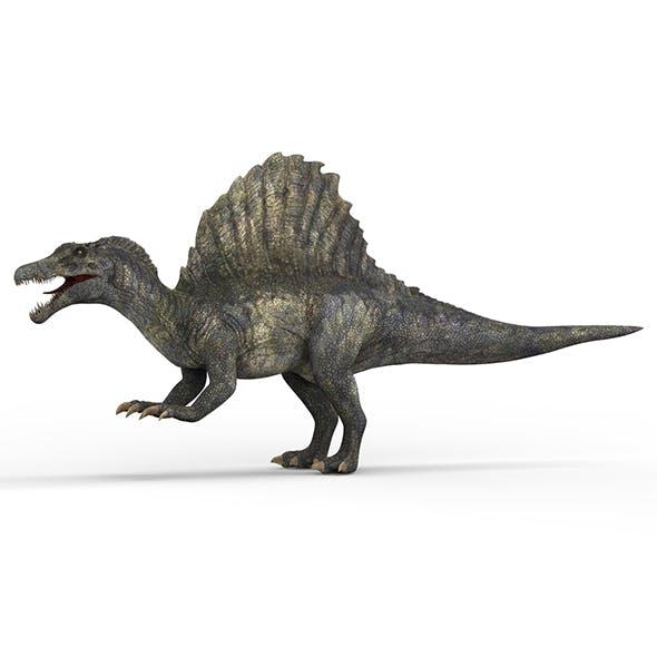 Spinosaurus Dinosaur - 3DOcean Item for Sale