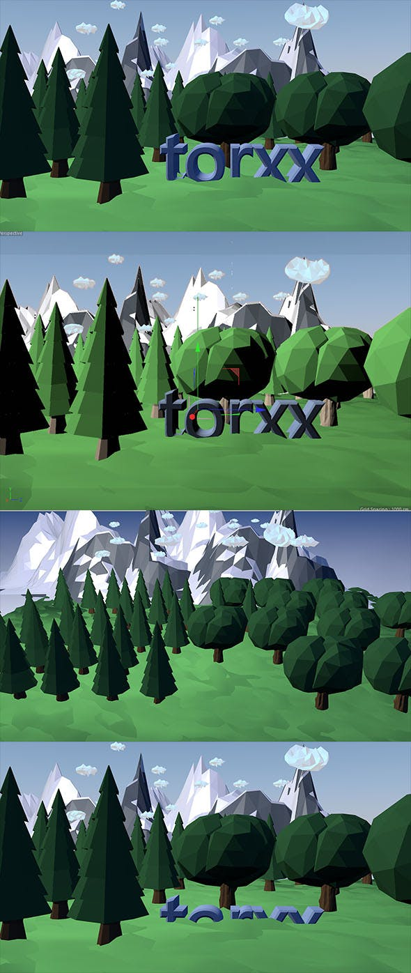 Low Poly Ground - 3DOcean Item for Sale