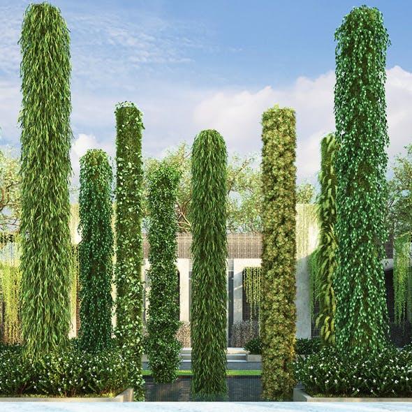 Vertical Garden 10 - 3DOcean Item for Sale