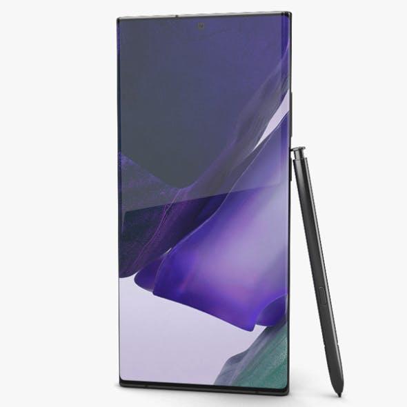 Samsung Galaxy Note20 Ultra Mystic Black - 3DOcean Item for Sale