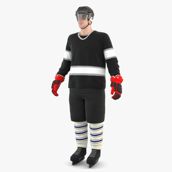 Hockey Player - 3DOcean Item for Sale
