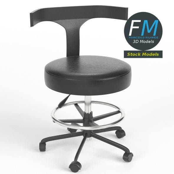 Doctor chair 2 - 3DOcean Item for Sale