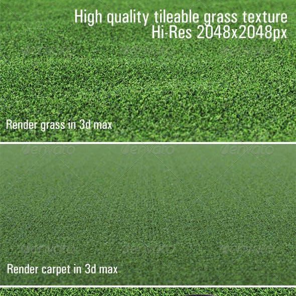 High quality tileable grass texture