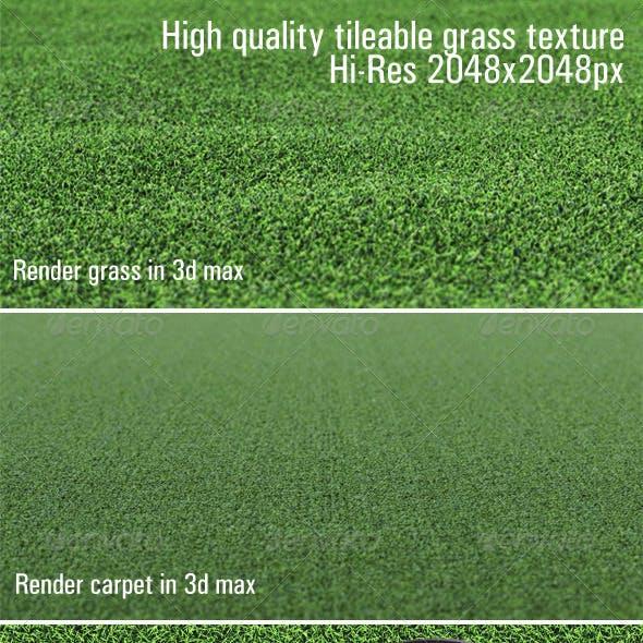 High quality tileable grass texture