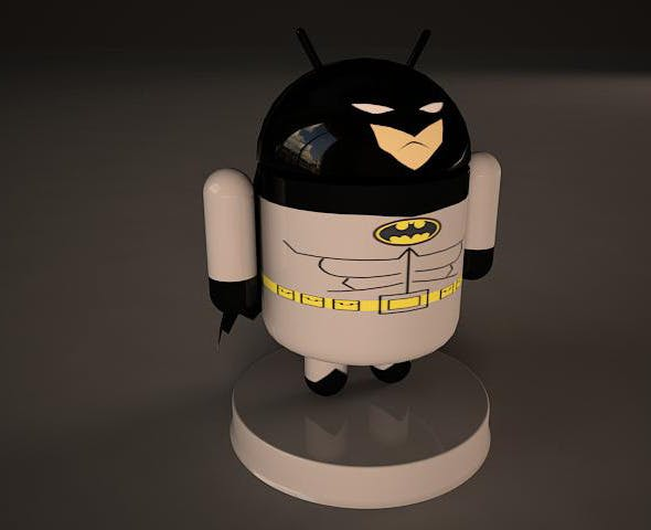Batman Android Model - 3DOcean Item for Sale
