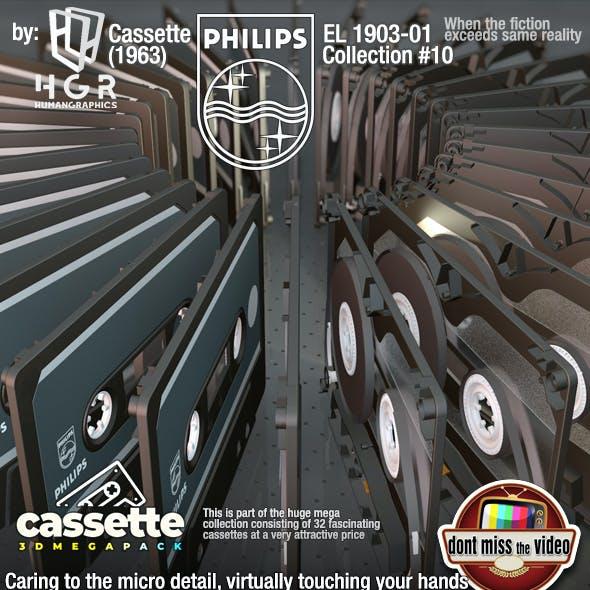 Cassette Phillips EL 1903-01 (1962) collection #10