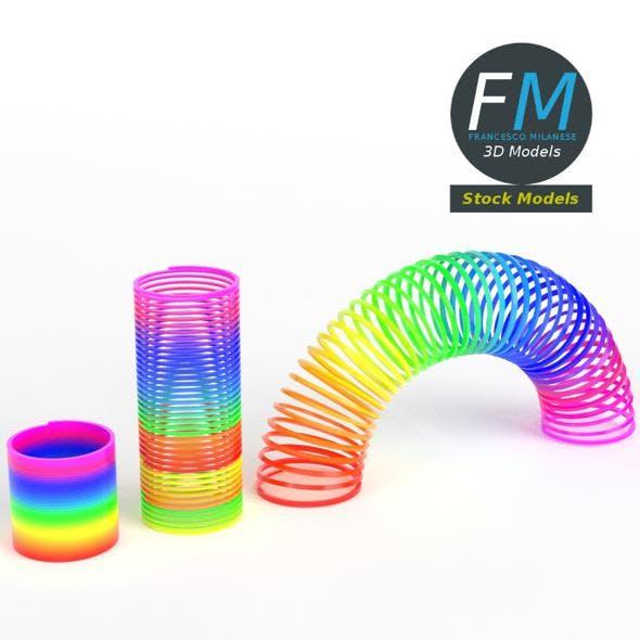 Magic springs toy set