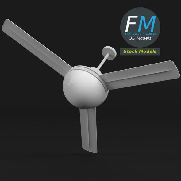 Ceiling fan 1 - 3DOcean Item for Sale