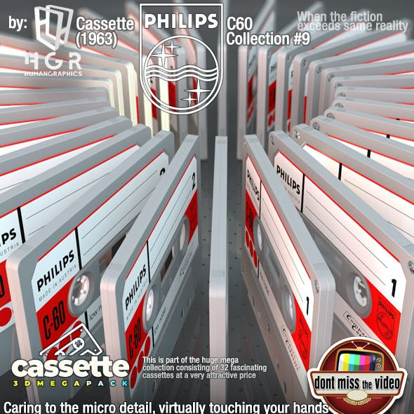 Cassette Phillps C-60 (1963) collection #9