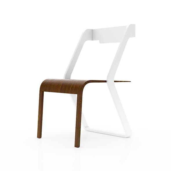 Modern minimalistic chair - 3DOcean Item for Sale