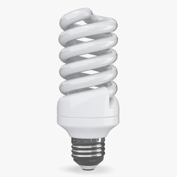 Energy-Saving Lamp - 3DOcean Item for Sale