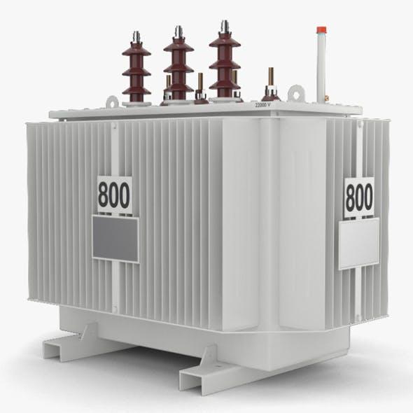 Power Transformer - 3DOcean Item for Sale