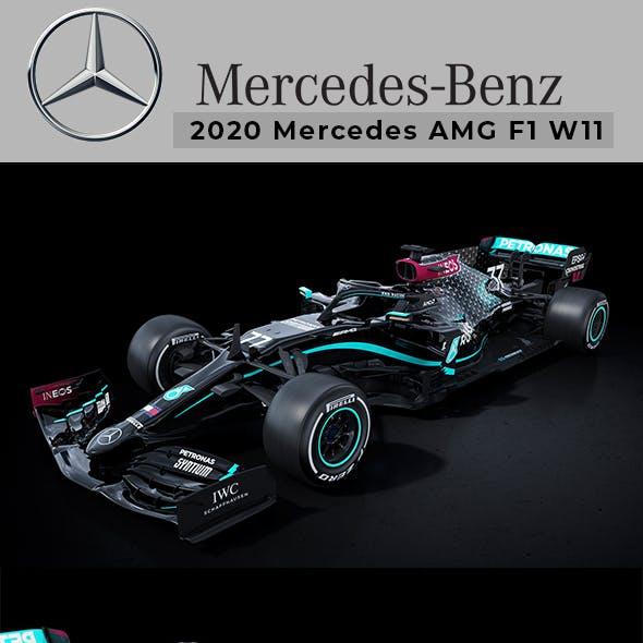 2020 mercedes f1 w11