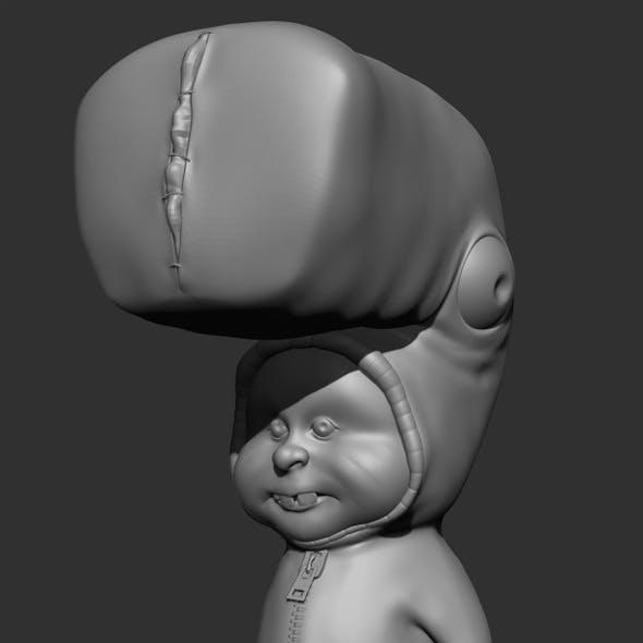 Kid Character Sculpt