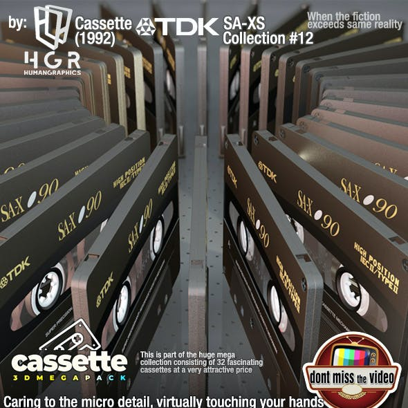 Cassette TDK SA-XS(1992) collection #12