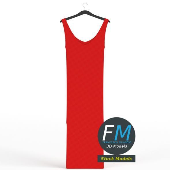 Hanging dress 1 - 3DOcean Item for Sale