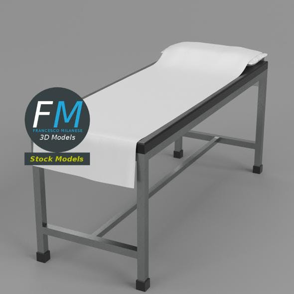 Patient examination table 1 - 3DOcean Item for Sale